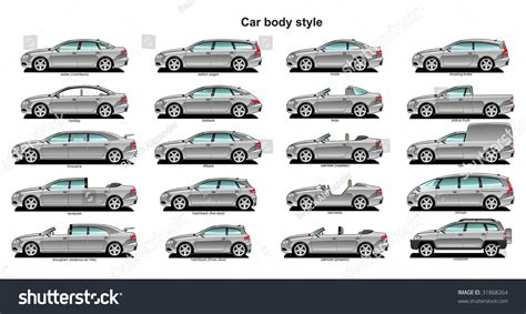 Car Body Style Stock Vector 31868264