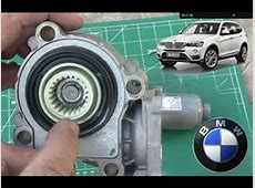 BMW X3 E83 DIY Actuator Solenoid Gear Replace on