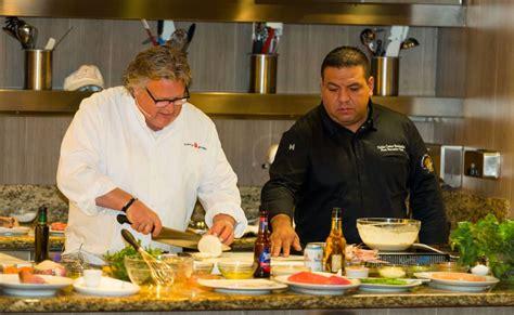 culinary council member recipe david burkes tuna  mustard seed crust cubbys cruises