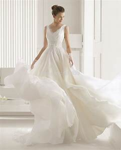 vestidos de noiva a line v neck wedding dress 2015 simple With simple romantic wedding dresses