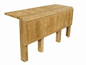 Table Exterieur Pliante : table jardin pliante bois table de jardin en metal djunails ~ Teatrodelosmanantiales.com Idées de Décoration