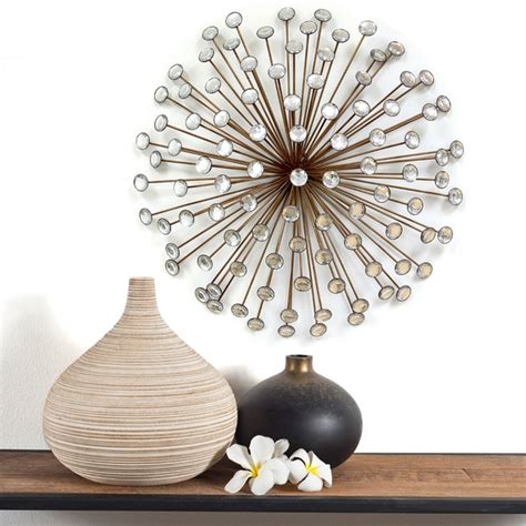 Our contemporary wall art is designed to create scenic atmosphere that will constantly showcase a charming piece that warms the heart. Shop Stratton Home Decor Bronze Acrylic Burst Wall Decor - Free Shipping Today - Overstock.com ...