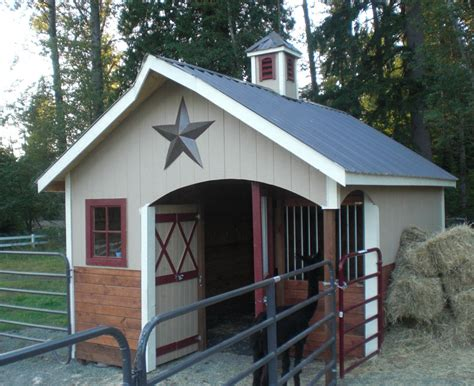 Miniature Horse Barns Designs