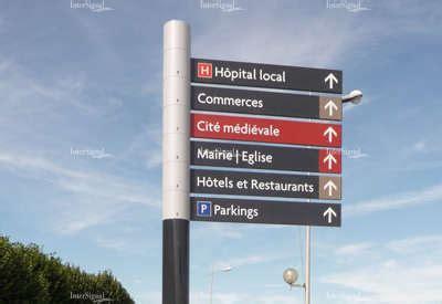 mat駻iel du bureau intersignal savoir faire signalétique touristique