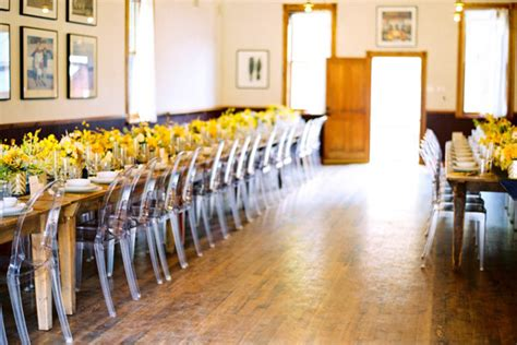 unique ghost chairs wedding reception ideas once wed