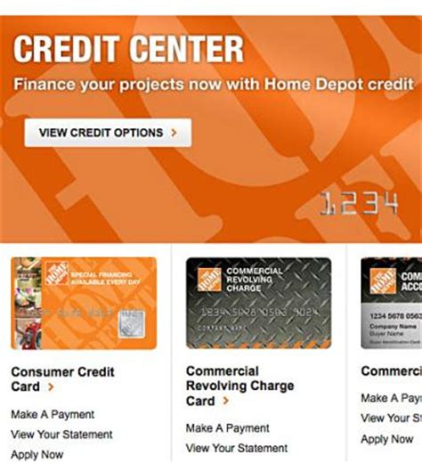 For they dole out loans tallying up to $55000 at a fixed rate of 7.99% apr and 84 months to settle the dues. The Home Depot Credit Card Options