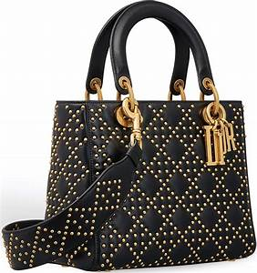 Supple Lady Dior Studded Tote Bag   All About Gucci ...
