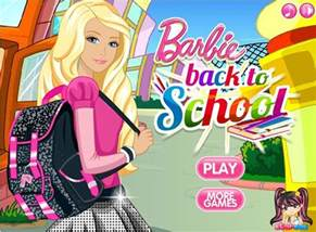 Barbie School Dress Up Games