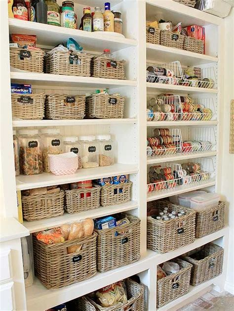 organizing kitchen pantry these pantries will make a type a s day pantry kitchen 1269