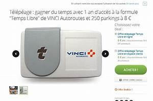 Badge Télépéage Vinci Installation : badge t l p age vinci 8 euros pour 1 an ~ Medecine-chirurgie-esthetiques.com Avis de Voitures