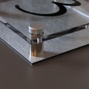 Numéro Maison Design : plaque de maison plexiglas doubl d 39 aluminium cr ativ 39 sign ~ Premium-room.com Idées de Décoration