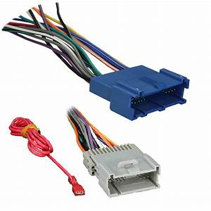 Metra Radio Wire Harness For Gm - Walmart Com