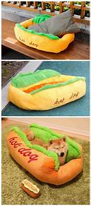 hot dog shaped sofa pet bed home designing dog beds and With hot dog sofa bed