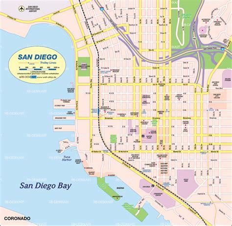 San Diego Karte