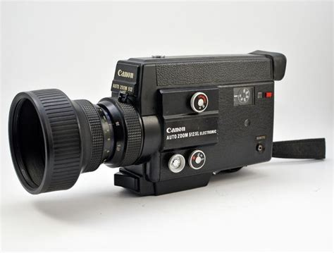 Canon Auto Zoom 512xl Electronic Super 8 Type 8mm Movie Camera
