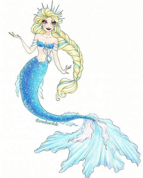 elsa  anastasiartistic disney drawings sketches