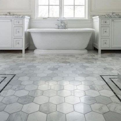 trend hexagon tile kitchen floors kitchens  hexagon