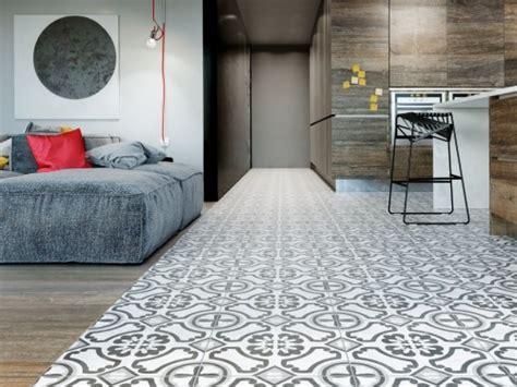 Interceramic Cementine Contrast Circoli Tile Flooring