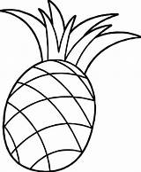 Pineapple Coloring Colouring Pages Clipart Cartoon Pineapples Drawing Pinapple Apple Pine Printable Cute Wecoloringpage Plants Fun Fruits sketch template