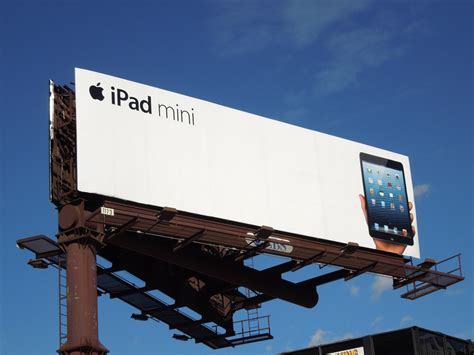 daily billboard apple ipad mini billboards advertising