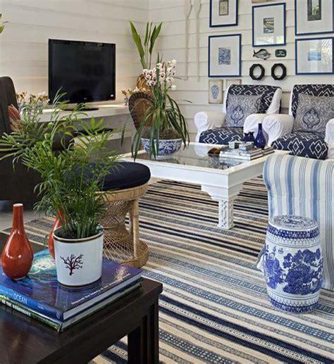 modern interior design  colorful striped rugs  carpets