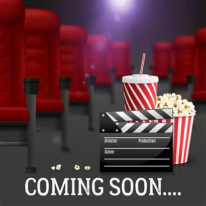 Cinema Background Illustration Vector Realistic Poster Template