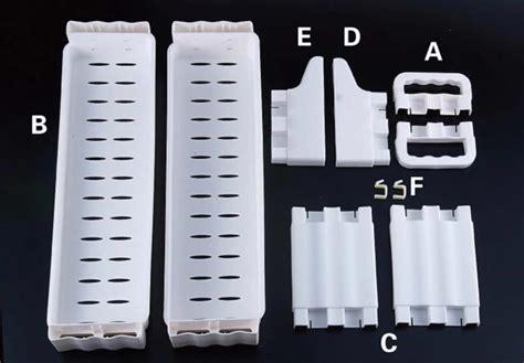 Tempat Bumbu Dapur Plastik Murah jual rak bumbu dapur portable serbaguna rak plastik tempat
