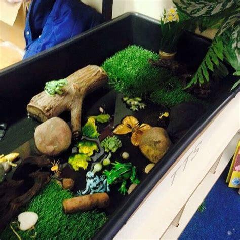 frog small world pond preschool eyfs small world play