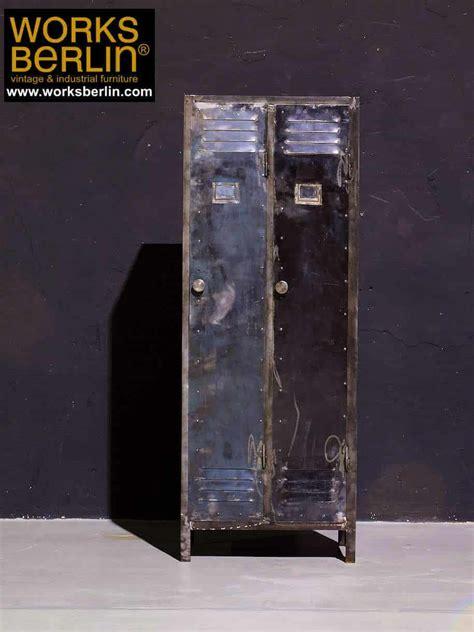Spind Metall Vintage by Imposanter Vintage Spind Vernietet Industrial Spind