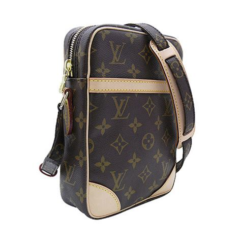 louis vuitton  danube messenger bag monogram canvas