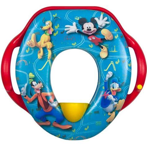 Mickey Mouse Potty Seat by The Years Disney Mickey Mouse Soft Sounds Potty Seat