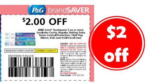 14932 Printable Coupons Crest Toothpaste by 2 Crest Toothpaste Coupon Free Toothpaste Couponmom
