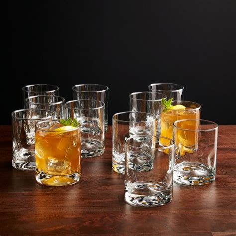 impressions double  fashioned glasses set