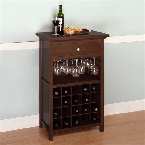 metal wine rack cabinet storage organization winsome wood 94441 cabinet wine