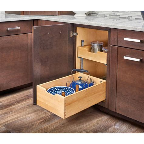 Kitchen Storage, Base Cabinet Pullout Adjustable Shelf