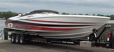 Cigarette Boat Wave by Performance Boat Center Delivers New Cigarette 42x
