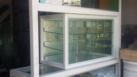 como hacer una vitrina de aluminio  youtube