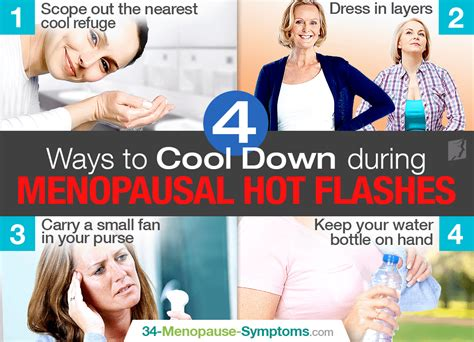 4 Ways to Cool Down during Menopausal Hot Flashes ...