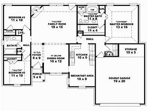 4 Bedroom House Plans With Double Garage South Africa ...