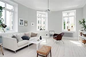 Una casa in bianco, grigio e beige In the mood for design