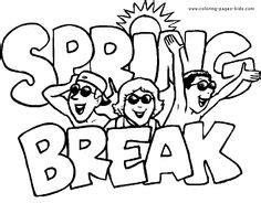 daylight savings spring  reminder coloring page