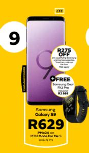 mtn contract deal  south africa   samsung