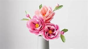 Stilvolle Blumendeko aus Papier von Livia Cetti
