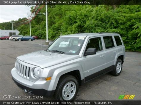 silver jeep patriot interior bright silver metallic 2014 jeep patriot sport 4x4