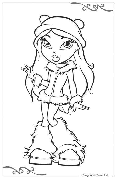 disegni da colorare ragazze bratz disegni da colorare ragazze gratis