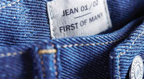 levi strauss  evrnu create  pair  jeans