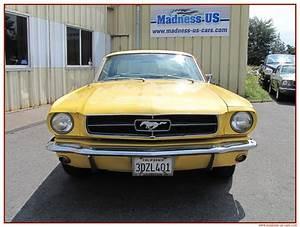 Madness Us Car : ford mustang coup 1965 restaurer ~ Medecine-chirurgie-esthetiques.com Avis de Voitures