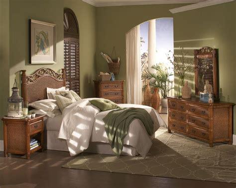 images  tropical rattan  wicker bedroom