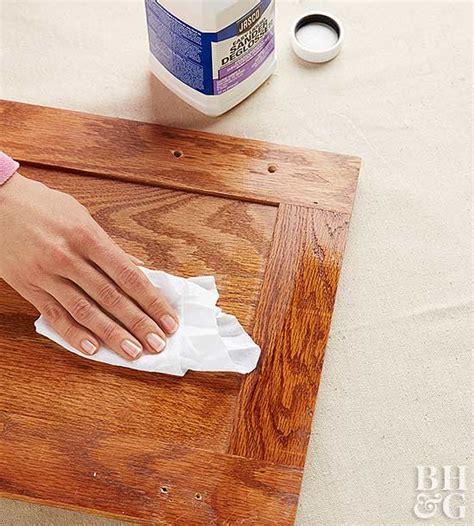 Deglosser For Cabinets by Painting Kitchen Cabinets Better Homes Gardens