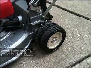 Honda Hr214 Lawn Mower Wheels